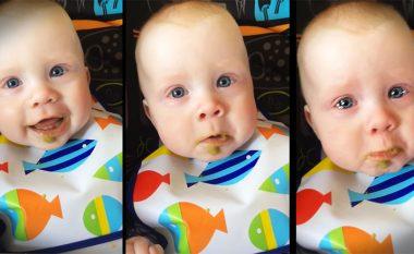 Sa e këndshme: Kënga emocionale e bëri të qante beben
