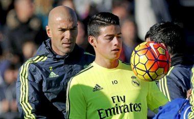 Zidane flet për të ardhmen e James