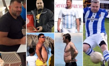 Shtatë ish-futbollistë që kanë nevojë menjëherë të dobësohen (Foto)