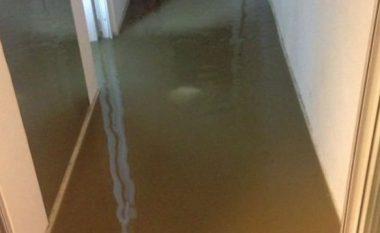 RTK-në e merr uji, evakuohet stafi (Foto)