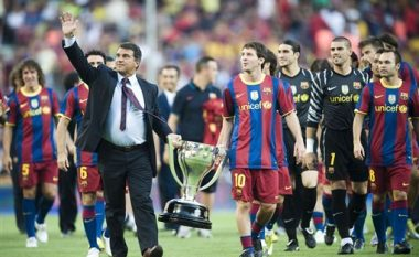 Bomba në Spanjë: Laporta akuzon Bartomeun, dëshiron ta largoj Messin nga Barca!