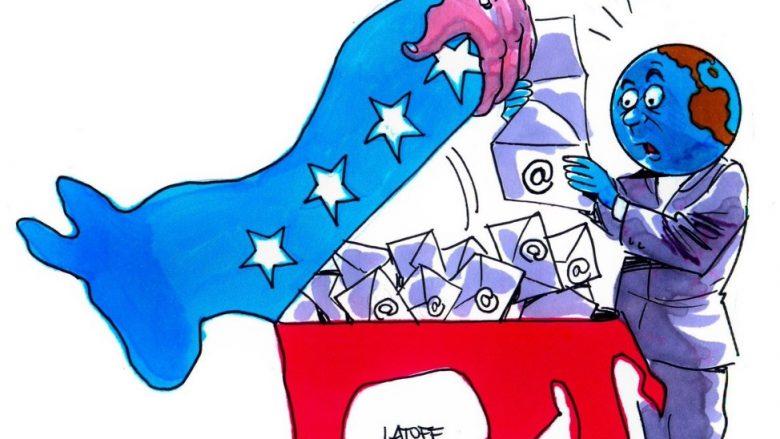 """Lojëra Spiunazhi: A është Rusia prapa """"vjedhjes"""" së emaileve të Partisë Demokratike?"""