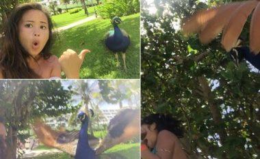 """Kur nga """"selfie"""" të dhemb trupi! (Video)"""