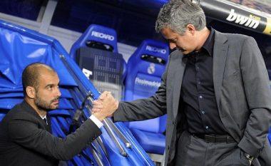 Gazetari e pyet Mourinhon se a do ta përshëndesë Guardiolan – shikoni reagimin e tij (Video)