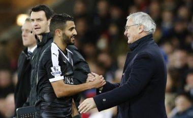 Ranieri: Mahrez është i lumtur në Leicester