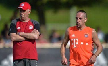 Ribery ndihet i rilindur me Ancelottin