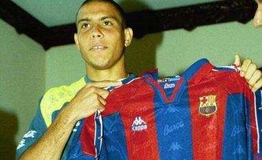 20 vite më parë Barcelona kishte blerë 'Fenomenin', që në vitin e parë shënoi 47 gola në 49 paraqitje (Foto-Video)