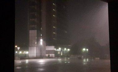 Shiu i madh kaplon Prishtinën (Video/Foto)
