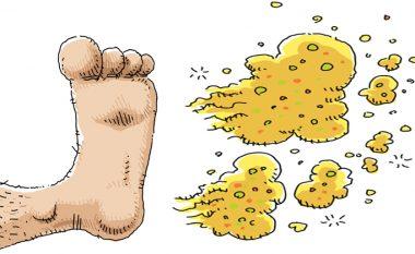 Keni këmbë me djersë dhe mbajnë aromë të keqe? Ja zgjidhja natyrale!