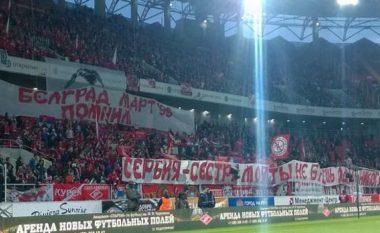 """""""Kosova është Serbi"""" në dy ndeshje të sotme të Ligës së Evropës (Video)"""