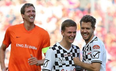 Vettel e Nowitzki, ndeshje futbolli për Schumacherin 28/07/2016
