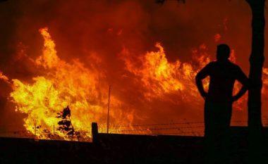Zjarr i madh afër bazës së NATO-s në Turqi, dyshohet për sabotim antiamerikan! (Foto/Video)