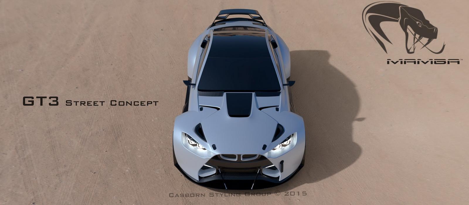 BMW Mamba koncepti i mahnitshem i makines hunde peshkaqen foto 2