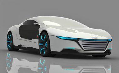 Koncepti i ri: Audi që riparohet vet dhe ndryshon ngjyrat në mënyrë automatike (Foto)