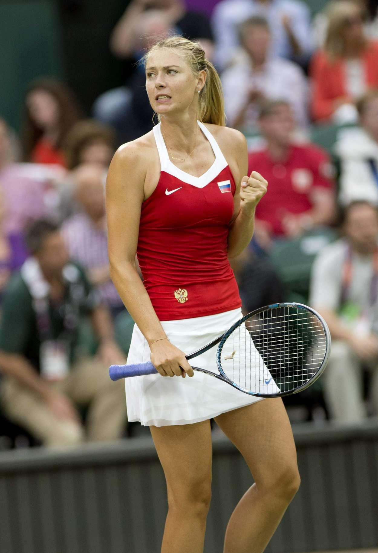 Maria Sharapova - 2012 Olympic Photos-16