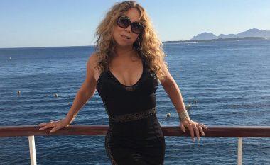 Me poza provokuese, Mariah paralajmëron fansat për koncertin (Foto)