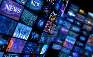 Qytetarët e Maqedonisë informohen nga televizori dhe interneti