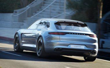 Pamjet e para të modelit të ri Panamera Sport Turismo (Video)