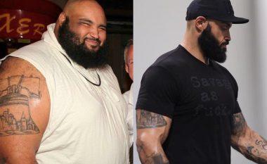 Dieta që ofron zgjidhje të thjeshtë për trashësinë: amerikani Broccon (31) ka arritur të heqë 90 kilogramë duke shëtitur deri në 500 metra