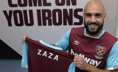 Fjalët e Zazas pas prezantimit te West Hami (Video)