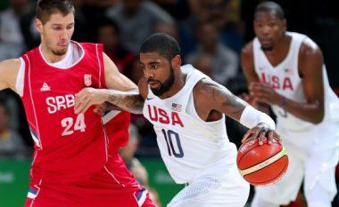 Amerika ia tregon dhëmbët Serbisë në Rio, e mposht në basketboll