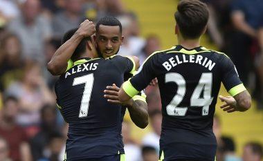 'Topçinjtë' shkatërrojnë Watfordin, Ozil shënon golin e tretë (Video)