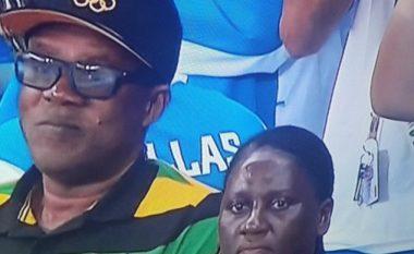 Usain Bolt fiton medaljen e radhës, por reagimi i nënës së tij bën xhiro në internet (Video)