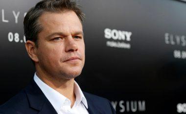 Matt Damon është aktori më i paguar në botë