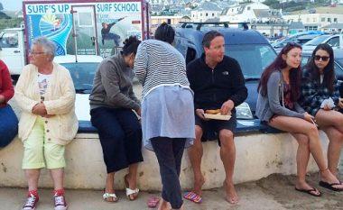 Fotografia e fundit e David Cameron -  ku ka qenë, e ku është tani! (Foto)