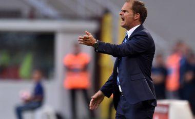 De Boer befason me deklaratën pas ndeshjes