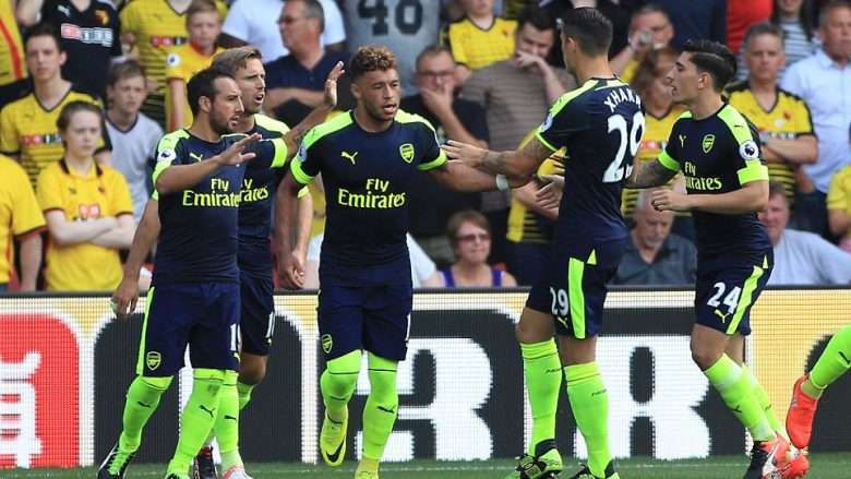 Xhaka me Arsenalin shijojnë fitoren e parë në sezonin e ri (Video)