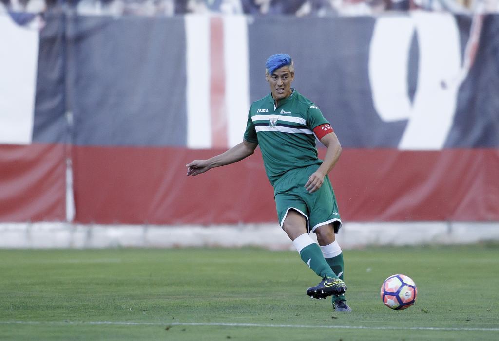 Vallecas, España - 6 de Agosto 2016:Martín Mantovani del Leganes durante el trofeo de Vallecas de Fútbol (Guillermo Martinez/Marca)
