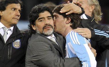 Maradona: Messi dështoi prandaj luan me largimin nga Argjentina