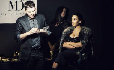 Kanye West bën shqiponjën dy krenare, krenohet grimeri shqiptar i Kim Kardashian (Foto)
