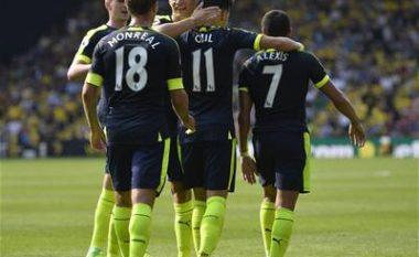 Watford 1-3 Arsenal: Notat e Lojtarëve, kështu u vlerësuan Xhaka dhe Behrami (Foto)