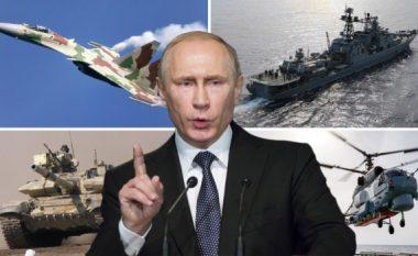Kjo është fuqia ushtarake e Putinit, nëse ai vendos që të shkojë në luftë (Foto/Video)