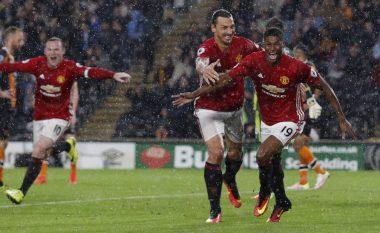Rashford ngrit në qiell Ibrahimovicin