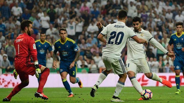 Reali fiton me vështirësi ndaj Celta Vigos (Video)