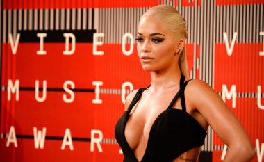 Edhe Rita Ora në ceremoninë e ndarjes së çmimeve të MTV-së (Foto)