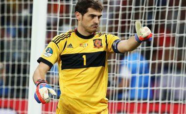 Trajneri i ri i Spanjës takon Casillasin për t'i kumtuar një lajm interesant (Foto)