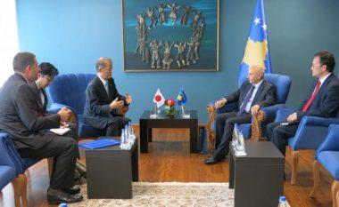 Mustafa priti në takim lamtumirës ambasadorin japonez Taketoshi