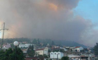 Zjarr në Malin e Bardhë të Ulqinit