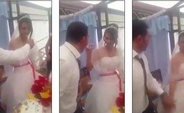 Kur burri mërzitet nga gruaja, në ditën e martesës: Fajet i ka gruaja, apo jo? (Video)