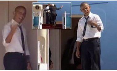 Edhe Obama humb durimin, mërzitet nga pritja e Bill Clinton-it (Video)