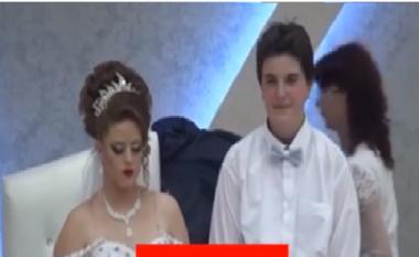 E çuditshme: Një 14 vjeçar shqiptar martohet me një vajzë 13 vjeçe (Video)
