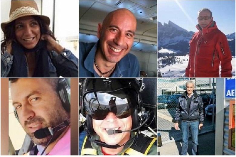6 personat qe vdiqen ne aksidentin ajror ne Shkup