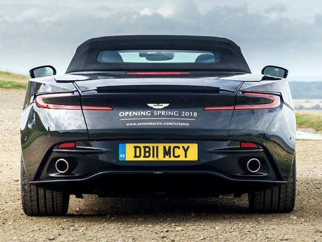 Aston Martin bën të ditura detajet e modelit Volante qe lansohet ne fillim te 2018 es foto 3