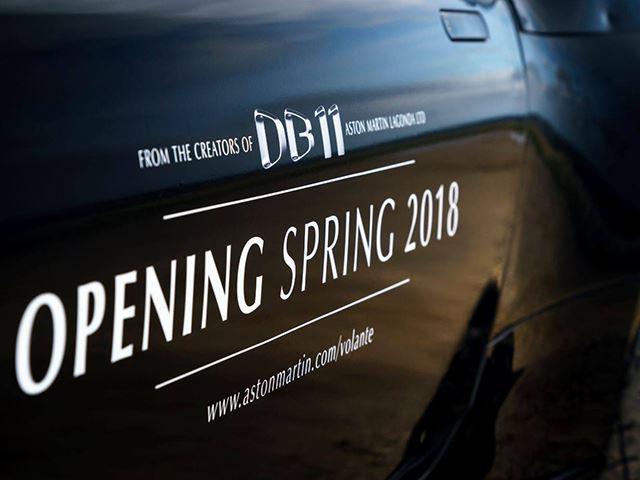 Aston Martin bën të ditura detajet e modelit Volante qe lansohet ne fillim te 2018 es foto 4