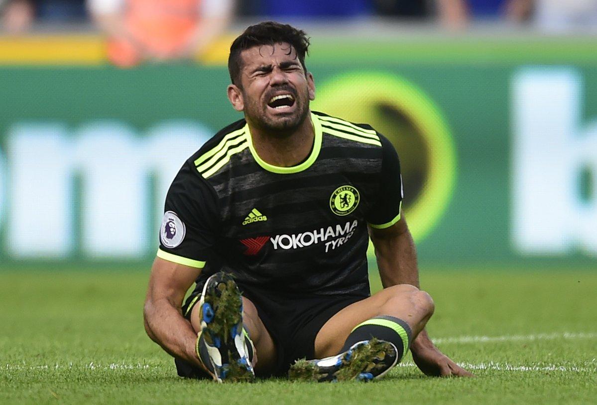 Costa deri më tani është faulluar 15 herë, por kjo nuk e ka ndaluar atë që të shënon katër gola dhe të asiston një herë.