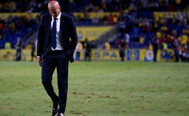 Las Palmas shkas për një rekord jo të mirë të Zidanes me Real Madridin